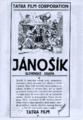 Jánošík [leták]
