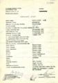 Výrobný list [text]