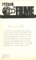 Týždeň vo filme. [Roč. 31], č. 12 (1975) [leták]