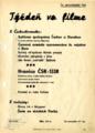Týždeň vo filme. Roč. 2, č. 8.B-II. (1946) [leták]