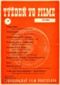 Týždeň vo filme. Roč. 15 [16], č. 34 (1960) [leták]